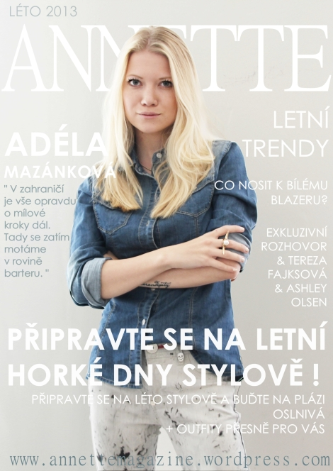 ANNETTE magazine letní číslo 2013