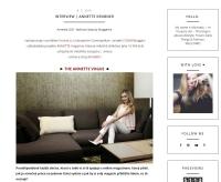 Nejnovější rozhovor se zakladatelkou ANNETTE magazine právě na Of-Goldbook.blogspot.cz