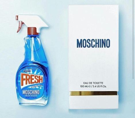 Hravost, dravost. Toť Moschino. | Zdroj: Weheartit.com